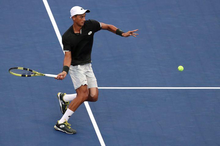 Antoine Hoang avoir bénéficié d'une wild-card pour participer à l'US Open, en 2019. (MIKE STOBE / GETTY IMAGES NORTH AMERICA)