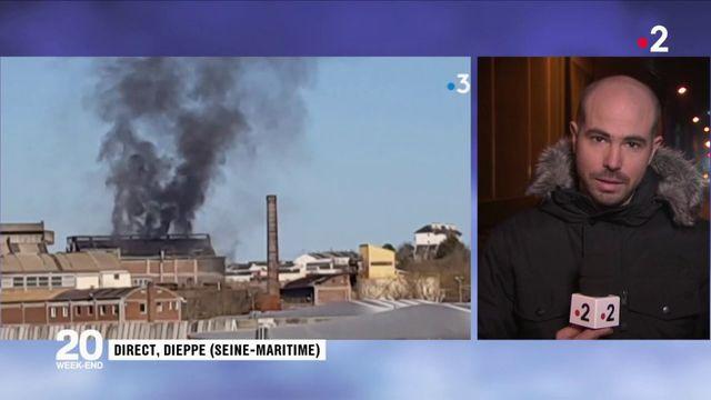 Dieppe : explosion d'une usine en centre ville
