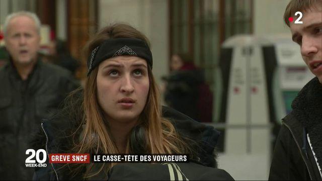 Grève à la SNCF : le casse-tête des voyageurs
