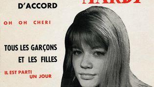 Le premier 45 tours de Françoise Hardy, le début de ses combats contre les vieilles habitudes du show business. (DR)