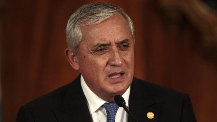 (Otto Perez, le président du Guatemala pourrait être arrêté © MAXPPP)