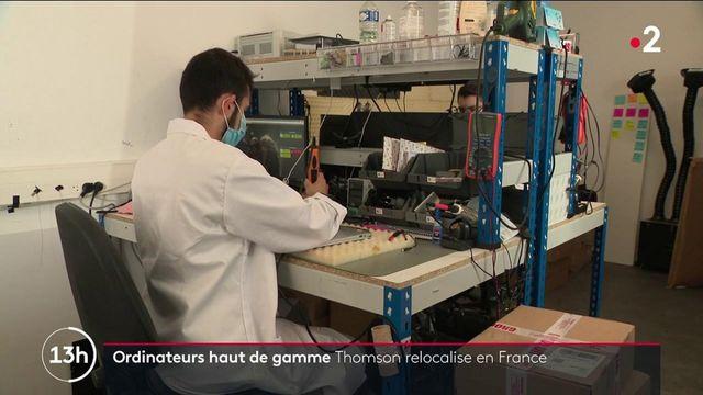 Ordinateurs portables : Thomson relocalise une partie de sa production en France