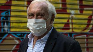 Jean-François Delfraissy, président du Conseil scientifique, à Paris le 26 avril 2020. (JOEL SAGET / AFP)