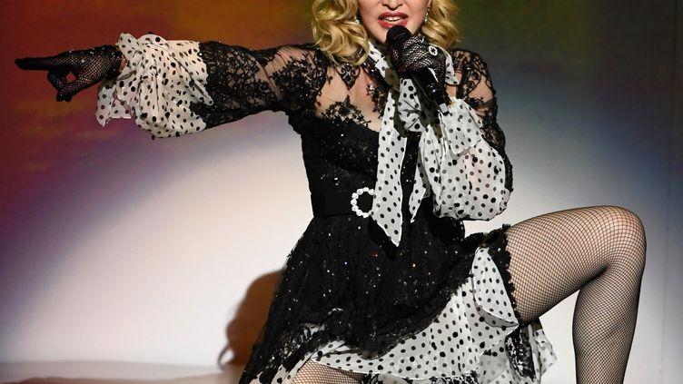 Madonna lors desBillboard Music Awards en 2019. (ETHAN MILLER / GETTY IMAGES NORTH AMERICA)