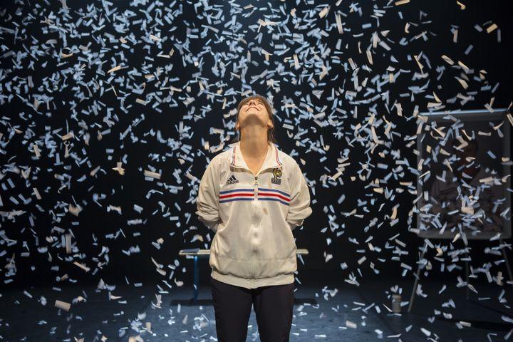 Entrer enfin sur le terrain et jouer, le rêve de Léa Girardet. (PAULINE LE GOFF)