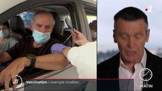 Coronavirus: Israël, champion de la vaccination  (France 2)