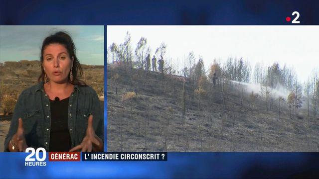 Incendie dans le Gard : les pompiers confiants