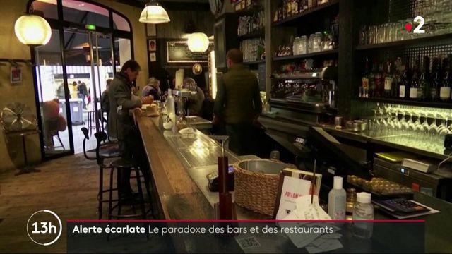 Alerte maximale : le paradoxe de la fermeture des bars et de l'ouverture des restaurants parisiens