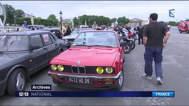 Vieilles voitures bannies de Paris : 50 propriétaires déposent un recours contre la mairie