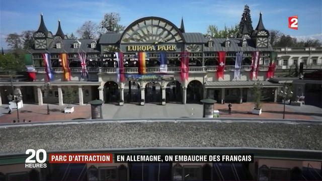 Parc d'attraction: en Allemagne, on embauche des Français