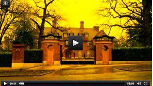 """(Capture d'écran de la vidéo tournée par the Guardian sur """"the Bishop Avenue"""". © The Guardian)"""
