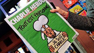"""Le nouveau """"Charlie Hebdo"""", mercredi 14 janvier 2015. (  MAXPPP)"""