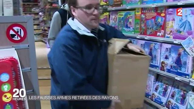 Après les attentats de Paris, les jouets violents dans le collimateur