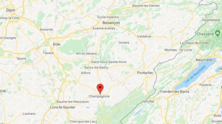 Champagnole dans le Jura. (GOOGLE MAPS)