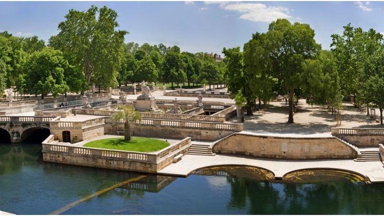 Les jardins de la Fontaine de Nîmes. (O.Maynard Office de tourisme de Nîmes)