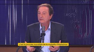 Michel-Edouard Leclerc, le 21 septembre, sur franceinfo. (FRANCEINFO / RADIOFRANCE)