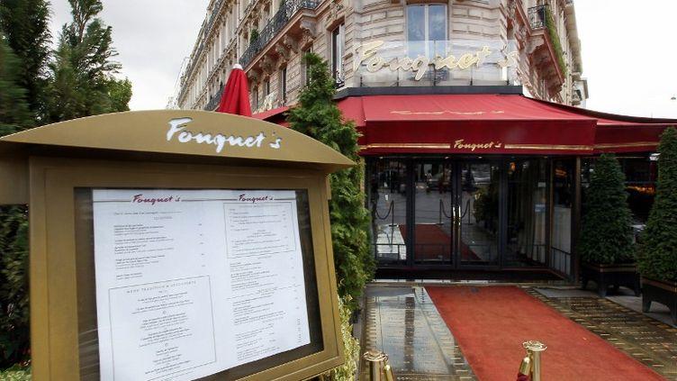 Le Fouquet's, en 2010. (THOMAS COEX / AFP)