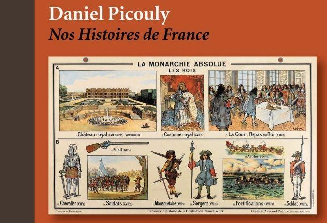 la couverture de Nos histoires de France  (DR Hoebeke)