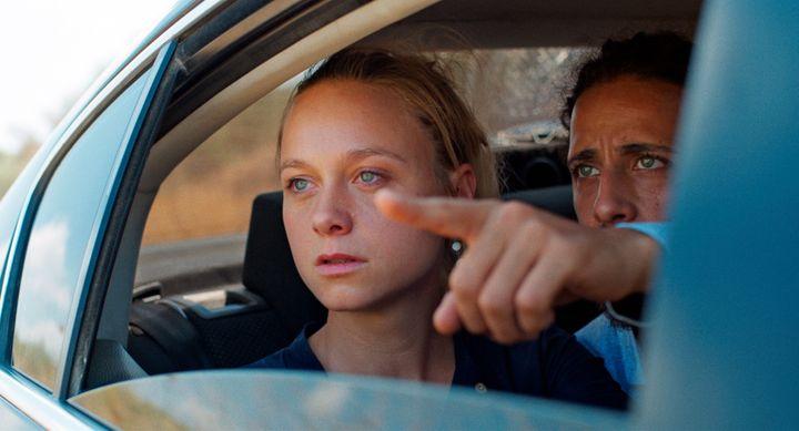 "Anna Unterberger dans ""200 mètres"", deAmeen Nayfeh, juin 2021 (SHELLAC FILMS)"