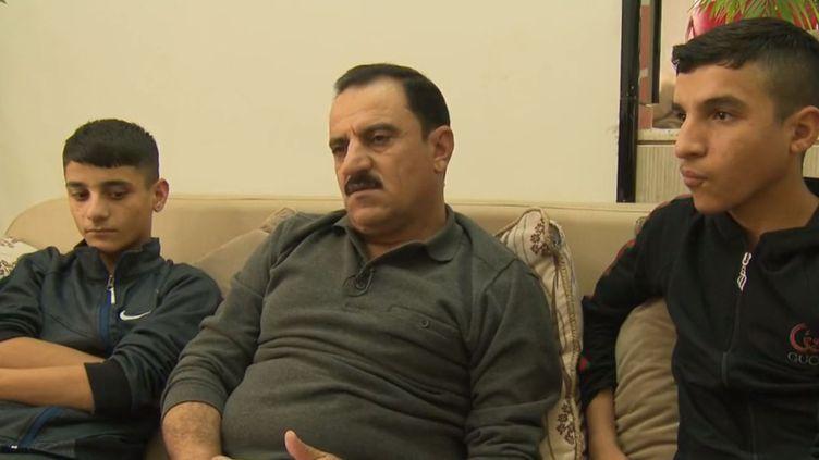 Idris Kocho, un Yézidi qui rachète les otages de Daech pour leur rendre la liberté. (FRANCE 2)