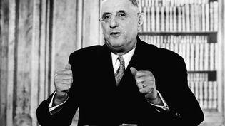 L'ex-président de la République, Charles de Gaulle, le 18 octobre 1962. (AFP)