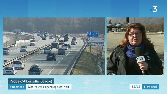 Vacances : des routes en rouge et noir pour le plus grand chassé-croisé de l'hiver