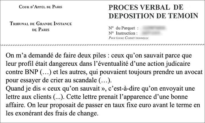 Extrait du procès-verbal de Nathalie Chevallier. (TOUS DROITS RÉSERVÉS)