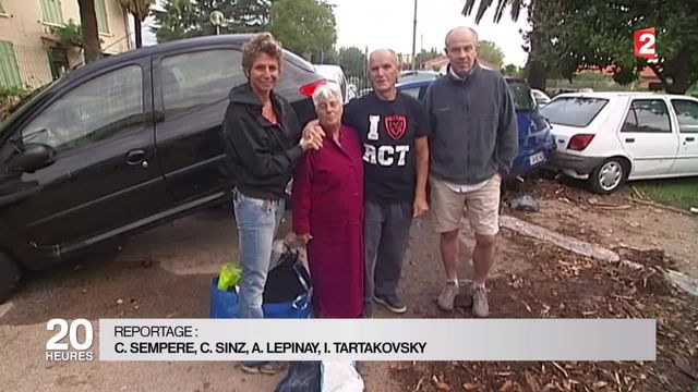 Les héros des inondations