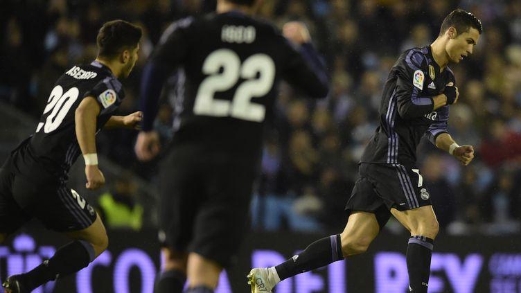 Le joueur du Real Madrid, Cristiano Ronaldo (MIGUEL RIOPA / AFP)
