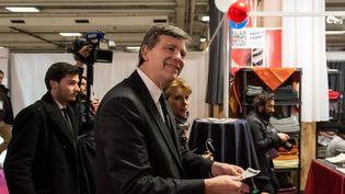 Arnaud Montebourg, candidat à la primaire de la gauche, le 18 novembre 2016, à Paris. (JULIEN MATTIA / NURPHOTO)