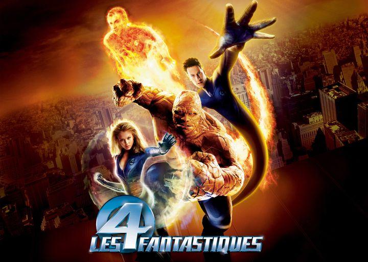 """Aujourd'hui,""""Les 4 fantastiques"""" (2005) au cinéma.  (Archives du 7eme Art / Photo12)"""