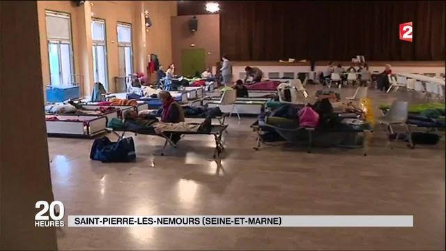 Saint-Pierre-lès-Nemours : le centre culturel devient camp d'hébergement d'urgence