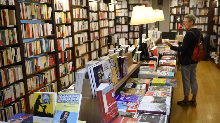 Une librairie. (DAMIEN MEYER / AFP)