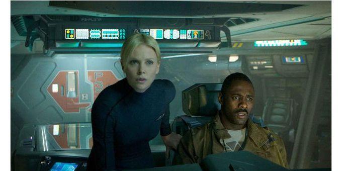 Charlize Theron, Idris Elba dans Prometheus, de Ridley Scott  (Twentieth Century Fox France )