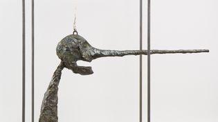 """""""Le Nez"""", 1947 (version de 1949). Bronze, 80,9 x 70,5 x 40,6 cm. Fonte 1965. Collection Fondation Giacometti. (SUCCESSION GIACOMETTI (FONDATION GIACOMETTI, PARIS ET ADAGP, PARIS))"""