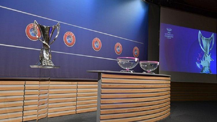 Le tirage au sort de la Ligue des champions féminine.