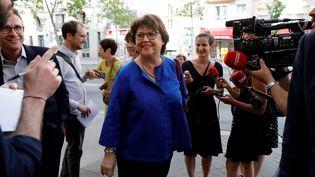 La maire de Lille Martine Aubry, au Sénat à Paris, le 17 juillet 2019. (THOMAS SAMSON / AFP)