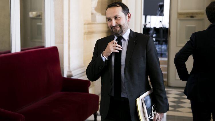 Sébastien Chenu, le 2 avril 2019. (VINCENT ISORE / MAXPPP)