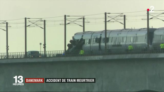 Danemark : accident de train meurtrier