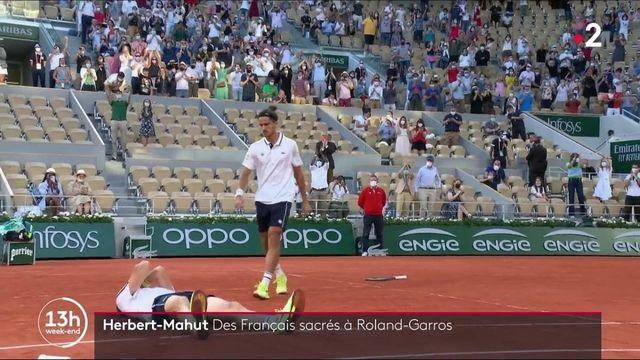 Roland-Garros : la victoire pour le duo Pierre-Hugues Herbert et Nicolas Mahut
