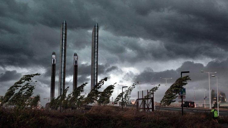 Photo d'illustration d'un orage violent dans le Sud-Ouest. (MAXPPP)