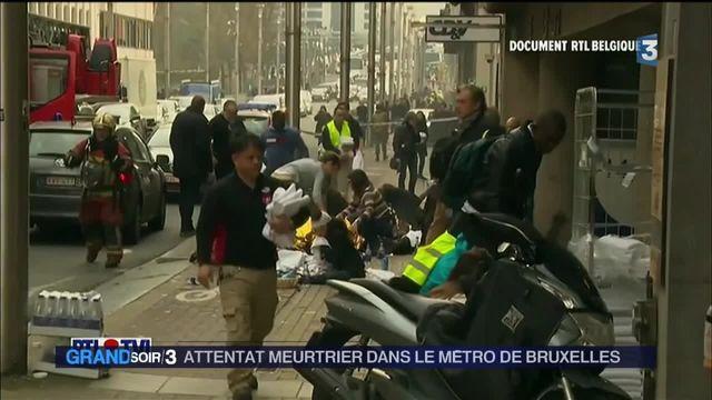 Attentat dans le métro de Bruxelles : au moins 20 morts
