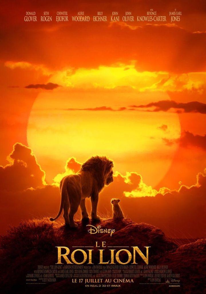L'affiche du film, hommage certain au film original. (The Walt Disney Company France)
