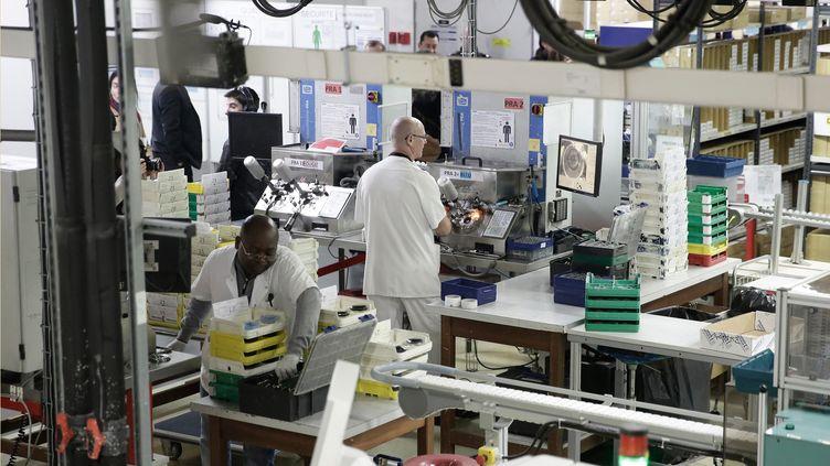 L'entreprise Krys est l'une des entreprises qui a bénéficié du crédit d'impôts compétitivité emploi (CICE). (  MAXPPP)