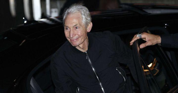 Charlie Watts à son arrivée au Trabendo (Paris), jeudi 25 octobre 2012.  (Thibault Camus/AP/SIPA)