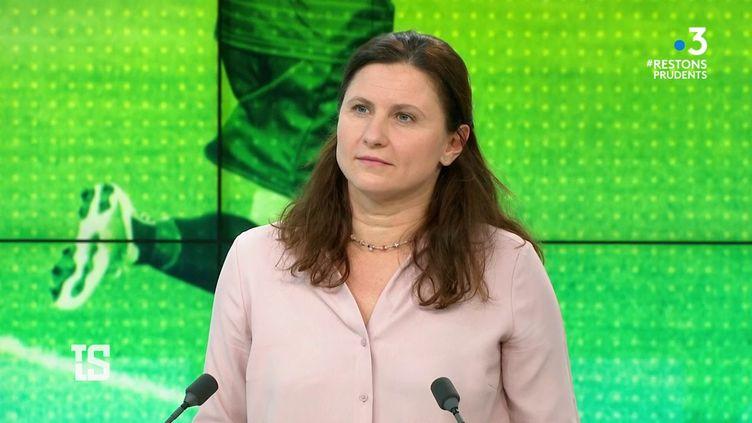 La ministre déléguée chargée des Sports était l'invitée de Tout le Sport