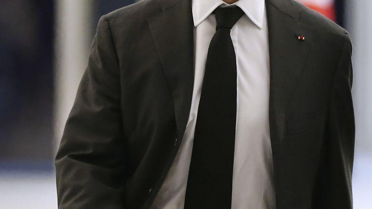 Nicolas Sarkozy à Paris, le 3 décembre 2014. (THOMAS SAMSON / AFP)