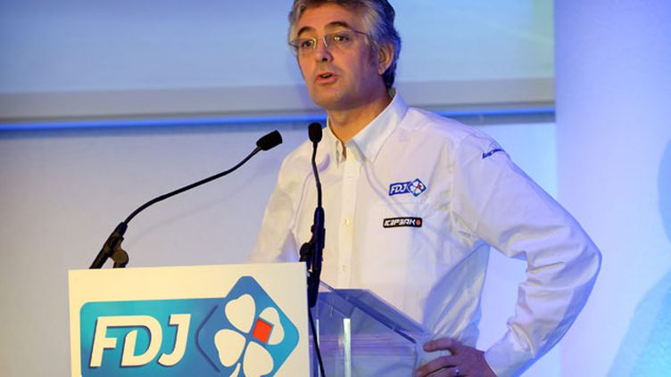 (Le manager de l'équipe FDJ Marc Madiot  © Maxppp)
