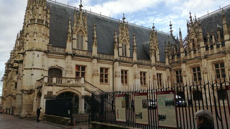 Le palais de justice de Rouen (Seine-Martitime). (YVES RENÉ TAPON / RADIOFRANCE)