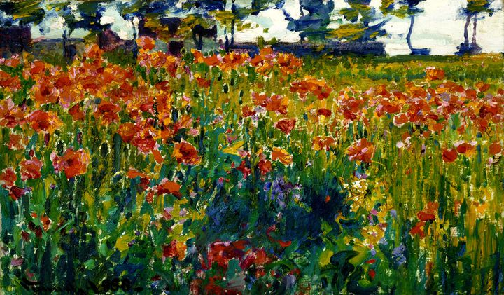 "Robert Vonnoh (1858 - 1933), ""Coquelicots en France"", 1888, Chicago, Terra Foundation for American Art, Collection Daniel J. Terra (© Terra Foundation for American Art, Chicago)"